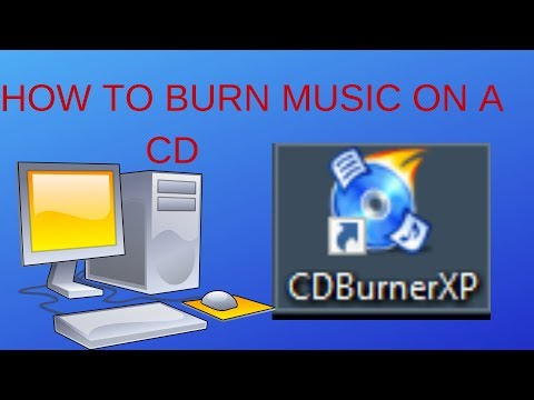 how to burn music on a cd