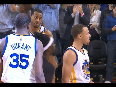 The Golden State Warriors Score 50 POINTS in the 3rd Quarter! | 02.23.17