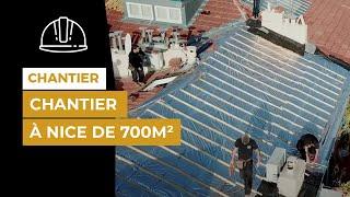 Chantier référence de 700 m² à Nice avec du TRISO-SUPER 12