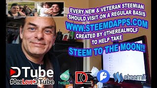 steemdapps com by @therealwolf   An Amazing Website that all of us especially new #steemians should