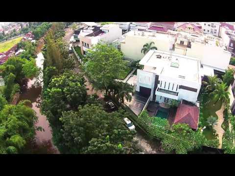 Rumah Modern Minimalist di Komplek Taman Malibu Indah, Medan.