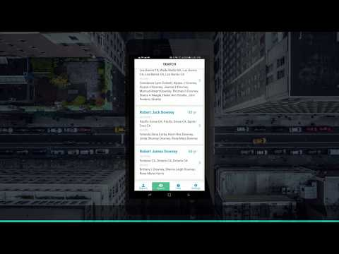 Truth Finder Background Check Mobile App — Sneak Preview