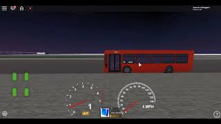 Roblox London Hackney & Limehouse bus Simulator ELC Esteem Dart GAL Route D6 Extended Mile End Park