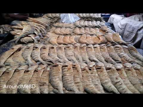 Incredible Dry Fish Market | Biggest Dry Fish Market In Gazipur Bangladesh