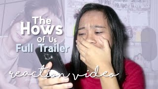 The Hows Of us OFFICIAL TRAILER (REACTION VIDEO)