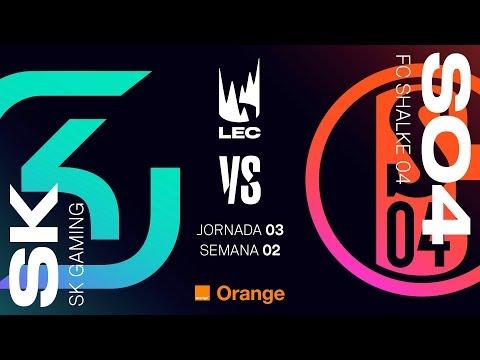 LEC EN CASTELLANO - SK VS SCHALKE04 - LEAGUE OF LEGENDS EUROPEAN CHAMPIONSHIP - DÍA 3 #LECENLVP2