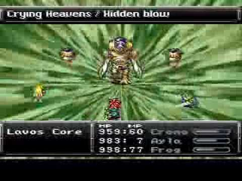 Chrono Trigger Final Boss Battle - Inner Lavos Core w/Bits - YouTube