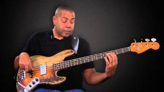 BASS LESSON: Brent-Anthony Johnson: The Harmonic Minor Scale