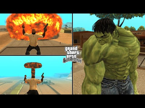 GTA San Andreas Top 10 CLEO Mods That You MUST Install! (2019)