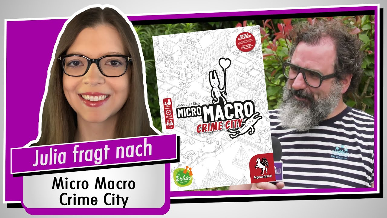 Im Interview: Michael Schmitt (Micro Macro Crime City / Edition Spielwiese) Spiel doch mal!