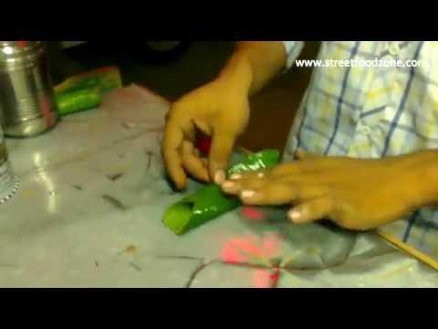 Zarda Pan | Zarada Killi | India's Popular Pan | Road Side Pan Shop