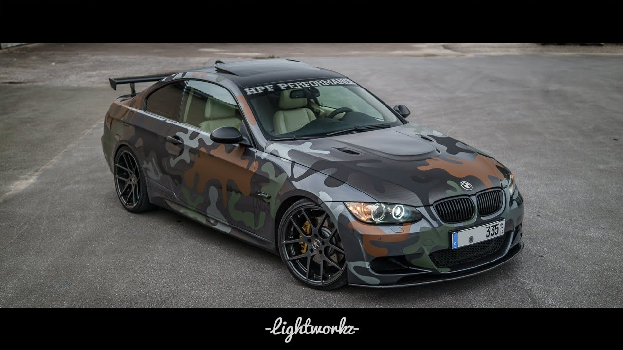 BMW E I Camouflage JB ZP ZPerformance Eibach HPF - 2007 bmw 335i performance upgrades
