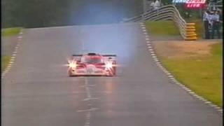 1999 - Le Mans - Ukyo Katayama's puncture
