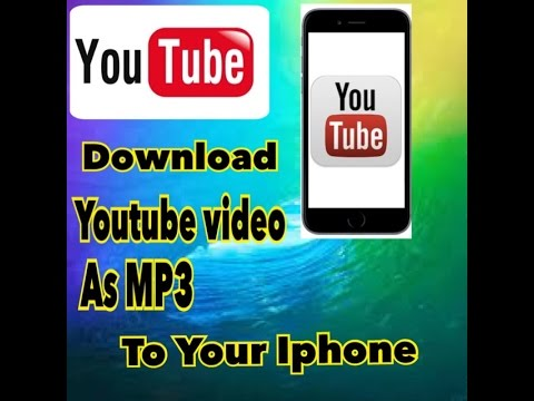download MP3 and video from youtube on ios device 9 3 3 Speak khmer