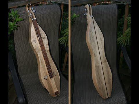 Ambrosia Curly Maple Electric Dulcimer