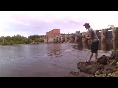 Top Raider Musky Fishing Off-Shore Wisconsin River