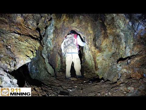 Prospecting For Gold In A Mine Adit Made Easy With The Thrunite TC15!