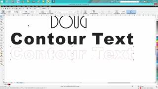 Corel Draw Tips & Tricks Making your font bolder even if it