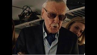 Stan Lee Cameo Scene in Avengers Infinity War