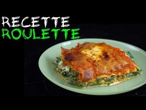 Recette : Lasagne épinard, ricotta