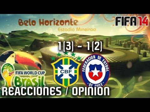 2014 FIFA World Cup (Reacciones/Opinion) Brasil vs Chile