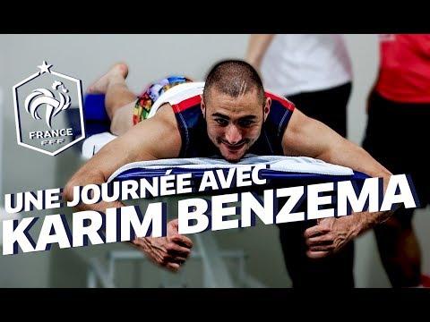 Une journée avec Karim Benzema au Brésil !