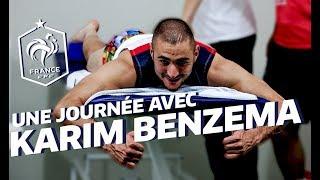 vuclip Equipe de France, Coupe du monde 2014: Une journée avec Karim Benzema au Brésil ! I FFF 2014