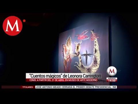 Exposición: 'Cuentos mágicos' de Leonora Carrington en CdMx
