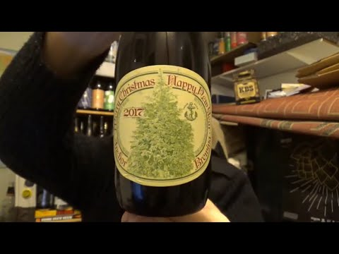 811 Anchor Brewing Co Merry Christmas Happy New Year Ale  Abv American Craft Beer