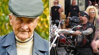 91 летний МУЖЧИНА, которого ОБИДЕЛИ БАЙКЕРЫ, встал И ОТОМСТИЛ ИМ!