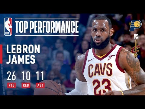 LeBron James Lifts Cavs Over Pacers With a Triple-Double | January 26, 2018