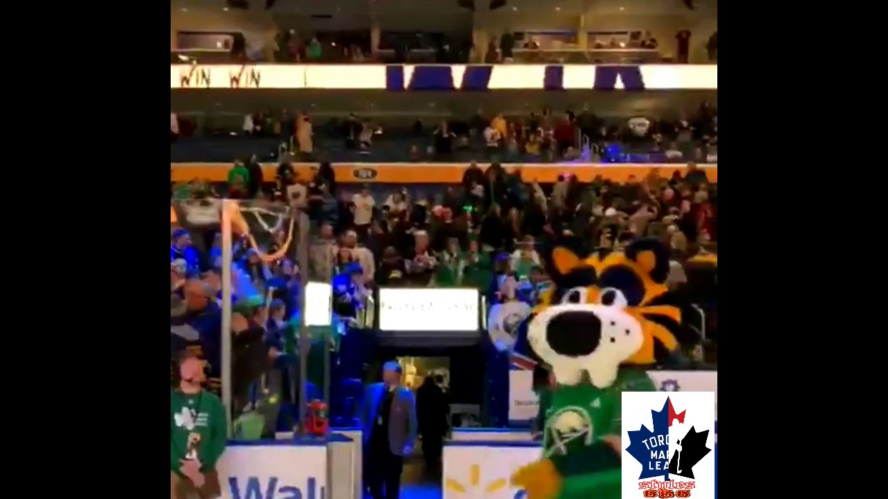 best sneakers f3124 3ab17 Buffalo Sabres - St Patricks Day jerseys warmup and ending stars  presentation - March 17, 2019