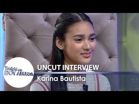 TWBA Uncut Interview: Karina Bautista