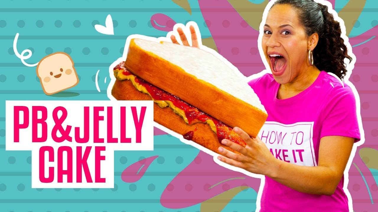 how-to-make-a-massive-peanut-butter-jelly-sandwich-out-of-cake-yolanda-gampp-how-to-cake-it