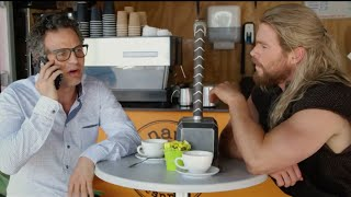 Captain America: Civil War: Team Thor Funny Reason Why Thor & Hulk Weren't in Movie | ScreenSlam
