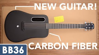 LAVA ME 2 Unboxing / Review / Sound Test - Carbon Fiber Acoustic Guitar