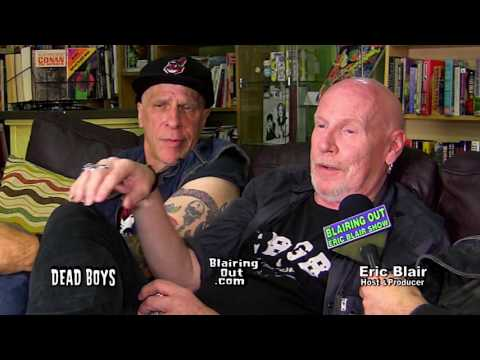 The Dead Boys & Eric Blair talk PART 2. Their Punk Rock History 2017