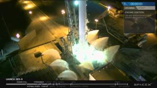 SpaceX SES-9 Launch Abort