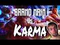 Road to Diamond Brand Mid vs Karma - Season 8 brand gameplay