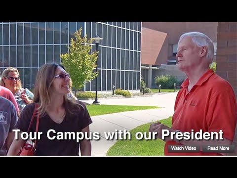 RIT Campus Tour: President Serves as Your Guide