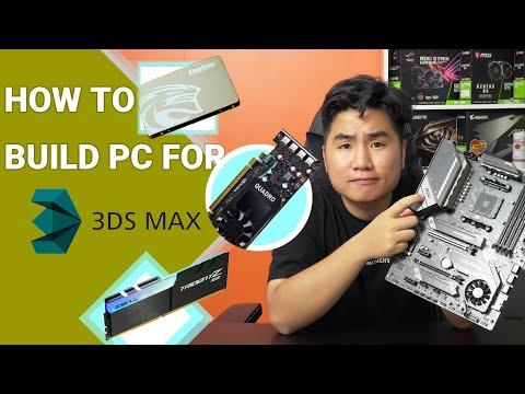 Cách Build PC Đồ Họa Sử Dụng 3Dsmax Hiệu Quả (P2) - Chọn Main,Ram, SsD Vga như thế nào ??   #PCDH03