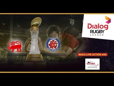 Kandy SC vs CR & FC - Dialog Rugby League 2017/18 Match #38