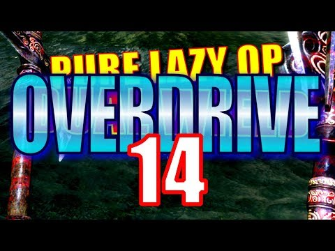 Skyrim Pure Lazy OVERDRIVE Walkthrough Part 14: Ridiculously Overpowered Dual Wield Build! thumbnail