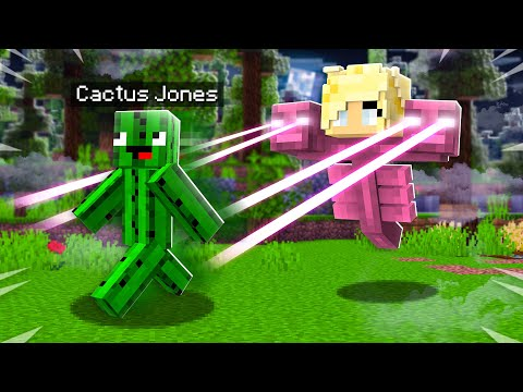 How to PRANK Cactus Jones as a Mob in Minecraft!