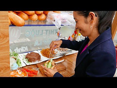 Vietnam Street Food - BANH MI SANDWICH COMPILATION (Can Tho)