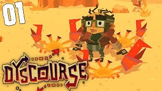 "Dyscourse Gameplay Ep 01 - ""Wormy Boar"