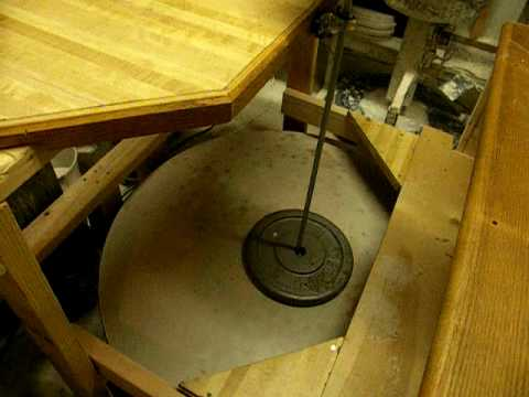 How to build a home made pottery / potter's wheel plan