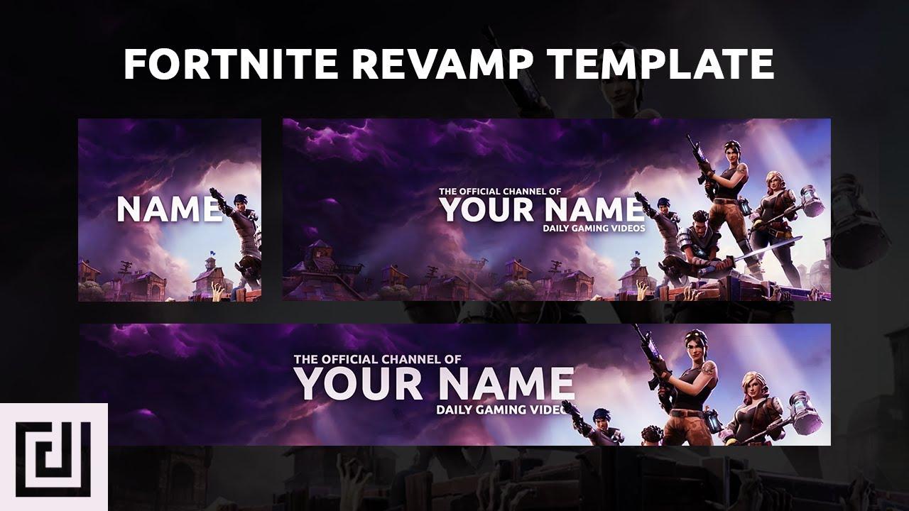 Raven Fortnite Twitter Header Premadegfx Youtube Banners