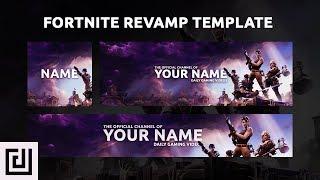 (Free GFX) FortNite Revamp Template (Banner, Logo, Header) (2017)