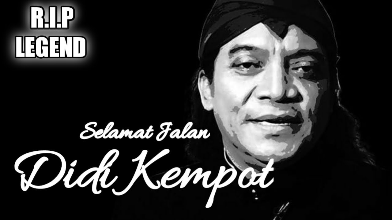 Didi Kempot Meninggal Dunia Sobat Ambyar Berduka Rip Legend